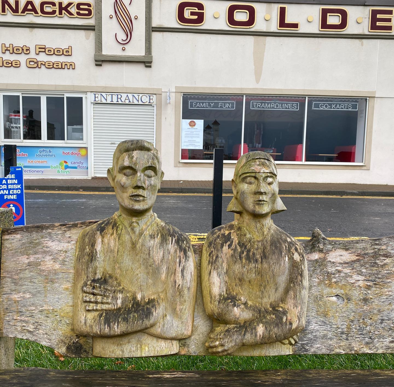 Golden couple