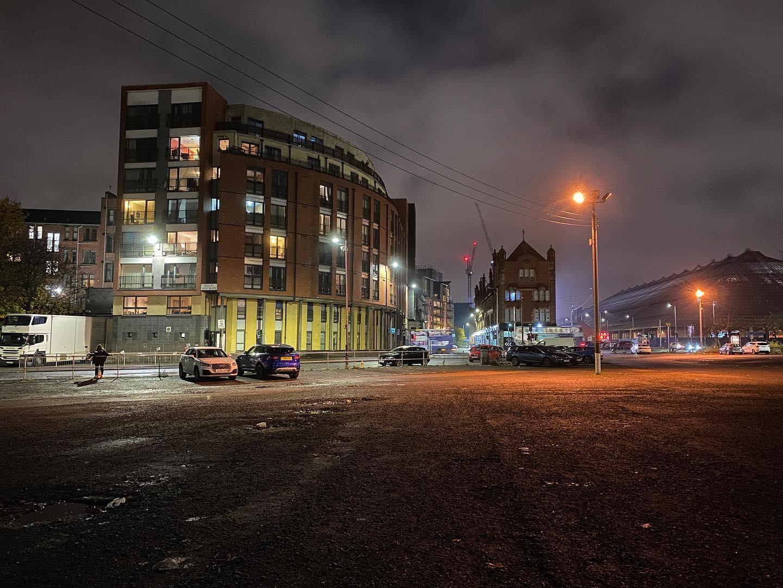 Car park glow