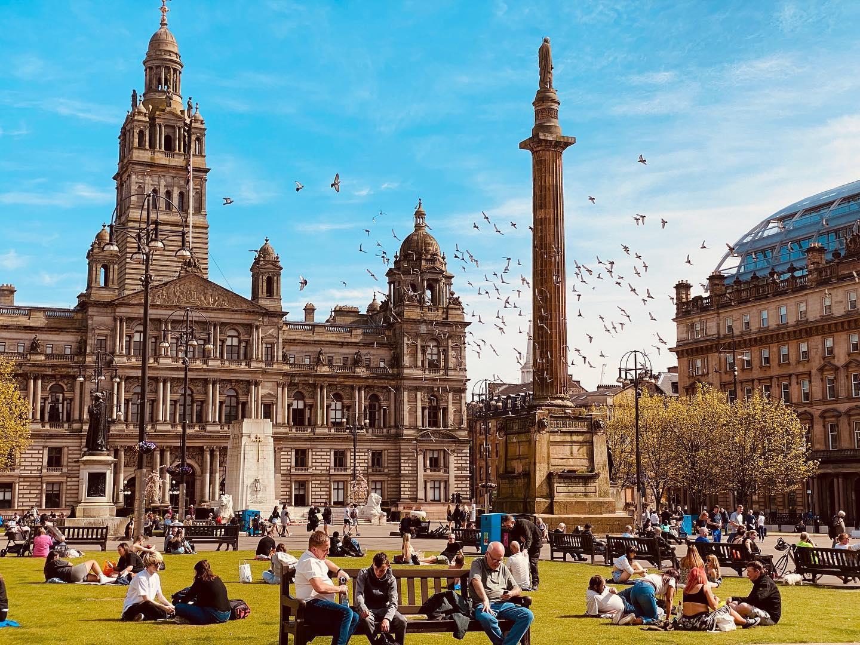Postcard from Glasgow