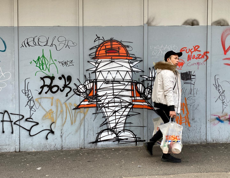 Kinetic Graffiti