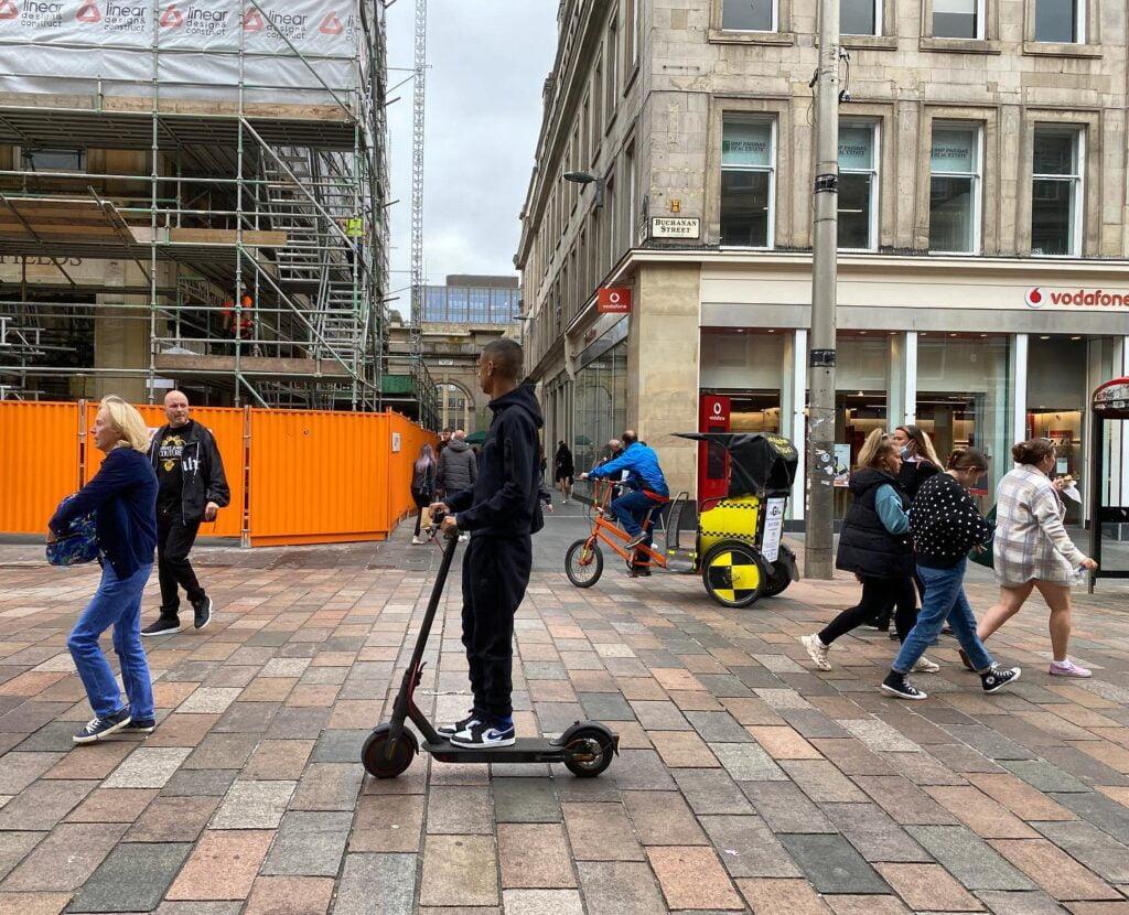 Pedestrianised