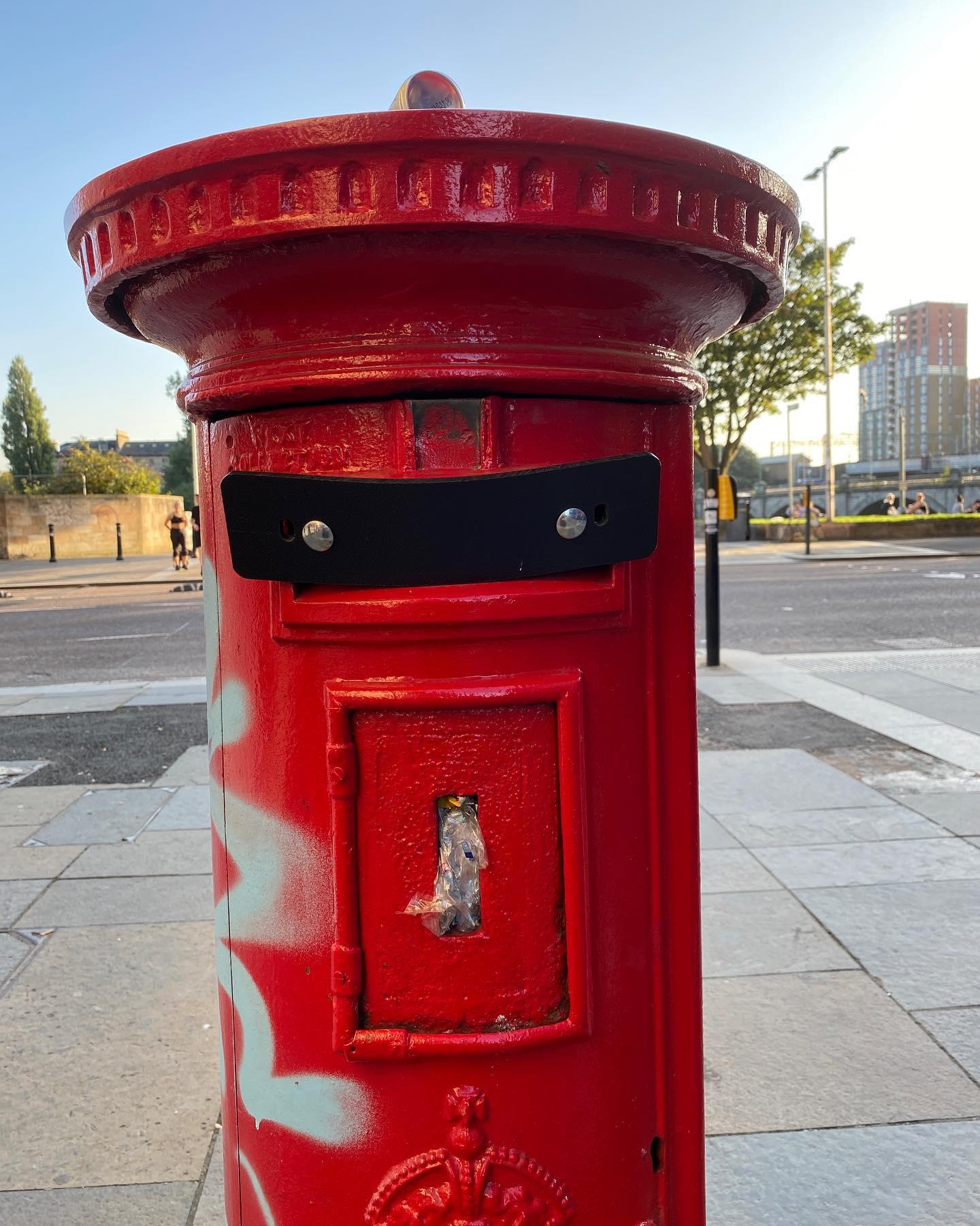 Highwayman Postbox
